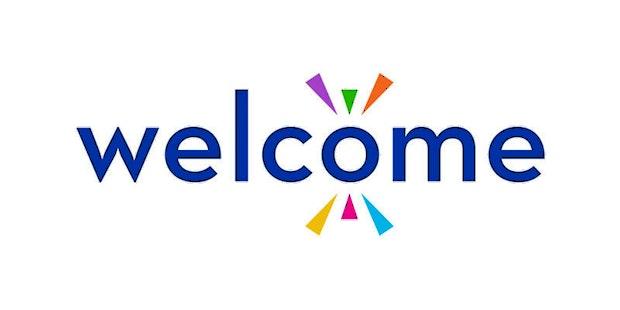 Welcome Logo Card